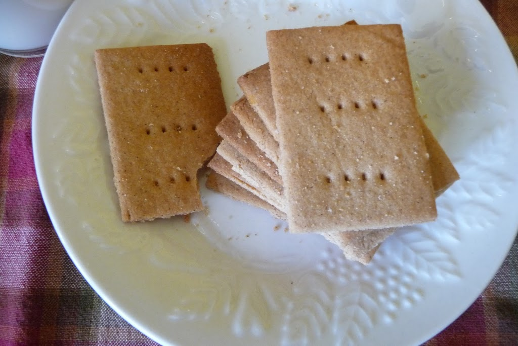 recipe for Gluten Free Graham Crackers