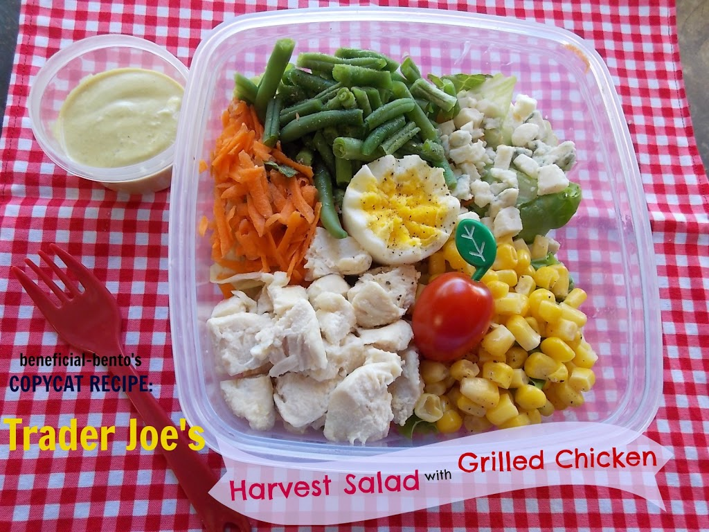Recipe for Trader Joe's Harvest Salad with Grilled Chicken